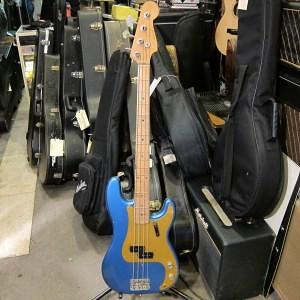 1958 Fender P Bass Metallic Blue $6,000 USD